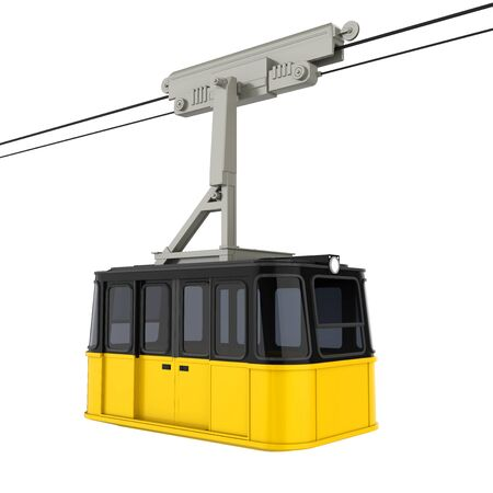 Gondola Lift Cable Car Isolated Stock fotó
