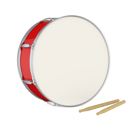 Bass Drum Isolated