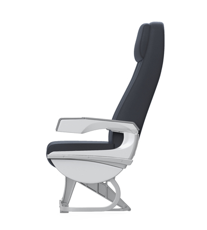 Airplane Seats Isolated 免版税图像 - 98024454