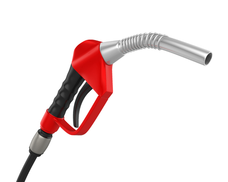 Gas Pump Nozzle Isolated Stock Photo - 100350200