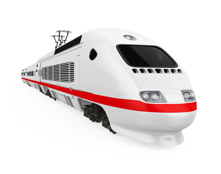 High Speed Train Isolated Stock Photo - 101688383