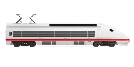 High Speed Train Isolated