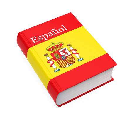Dizionario spagnolo libro isolato