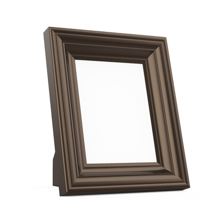 Picture Frame Isolated Stock Photo