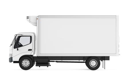 Gekoelde Geïsoleerde Vrachtwagen