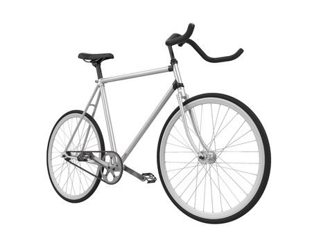 Speed Racing Bicycle Isolated