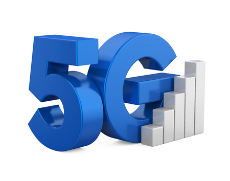 5G Network Sign Isolated