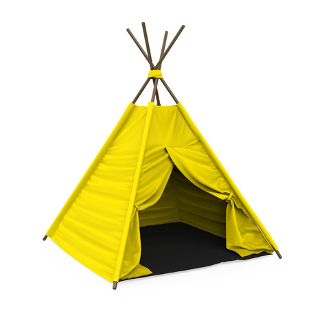 Teepee Tent Isolated