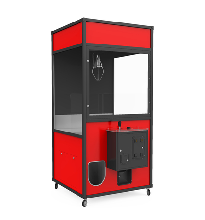 Crane Claw Machine Games Isolated