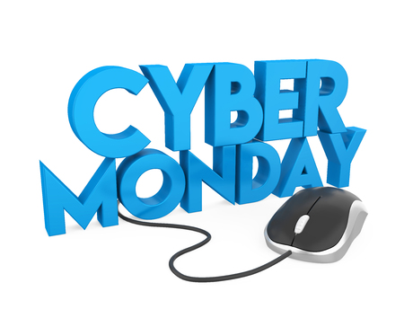 Cyber Monday Concept Isolated