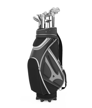 Golf Club Bag Isolated