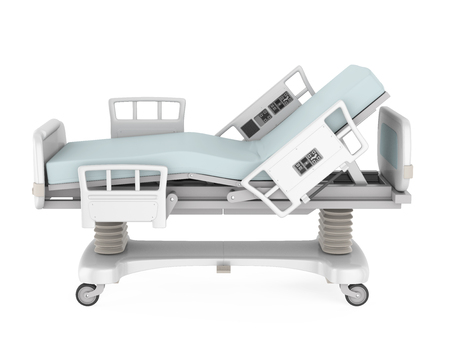 Hospital Bed Isolated Stock Photo - 109373114