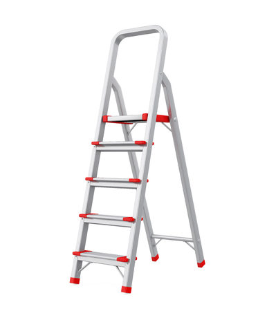 Step Ladder Isolated
