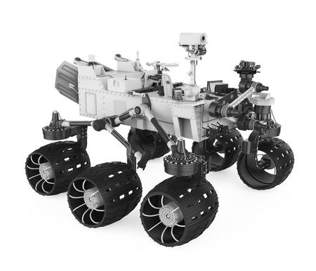 Curiosity vehicle Isolated Stok Fotoğraf
