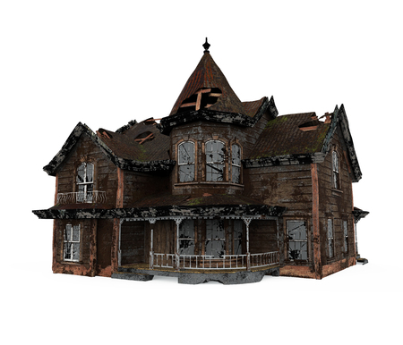 Haunted House Isolated