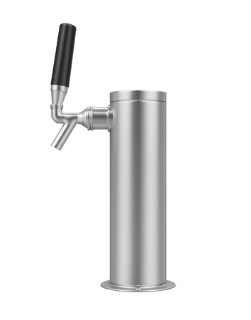 Draught Beer Tap Isolated