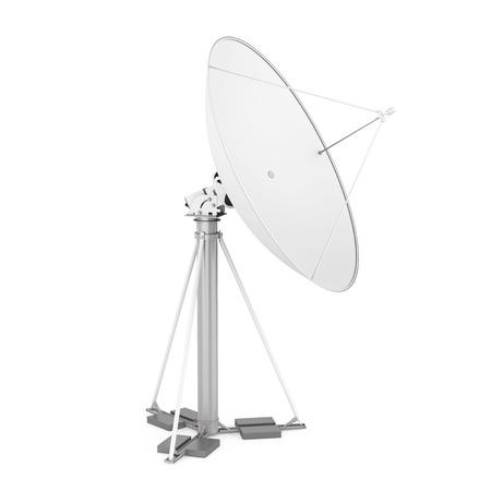Satellite Dish Isolated