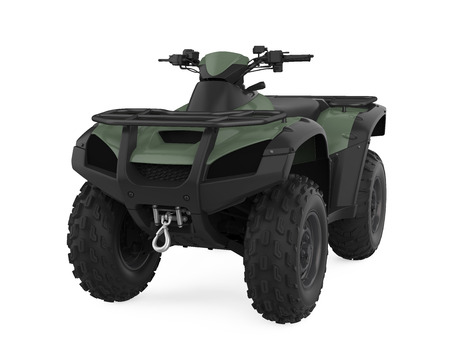 All-Terrain Vehicle Isolated