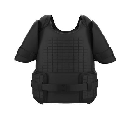 Bullet Proof Vest Isolated 免版税图像