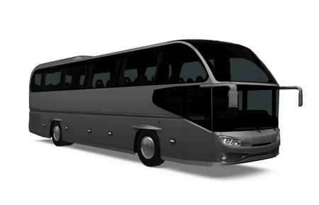 Coach Bus Isolated Standard-Bild