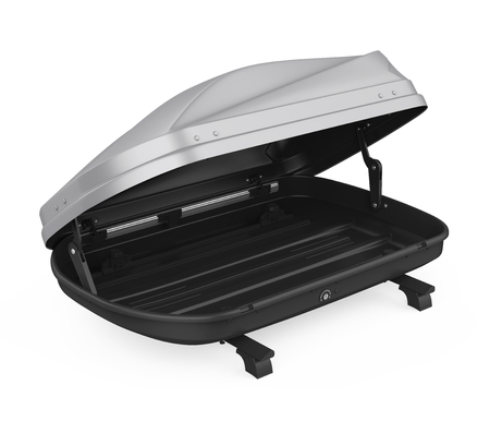 Car Roof Rack Isolated