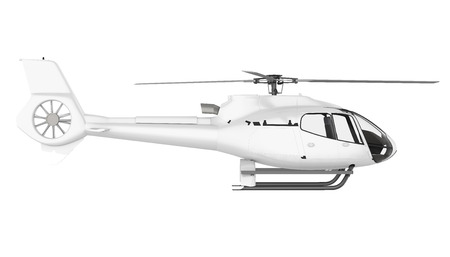 Helicopter Isolated