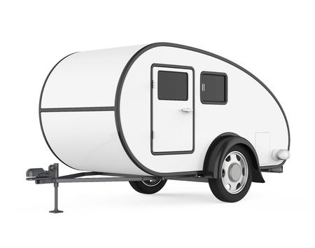 Camper Trailer Isolated Reklamní fotografie
