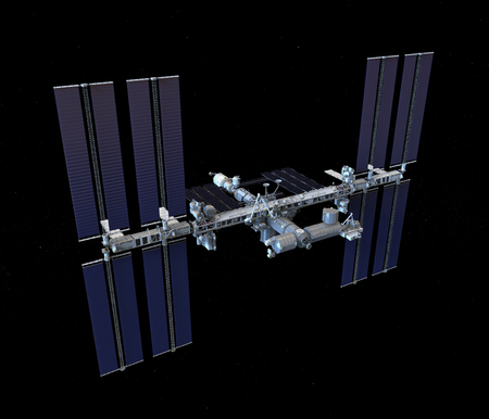 International Space Station Isolated
