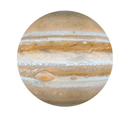 Planet Jupiter Isolated