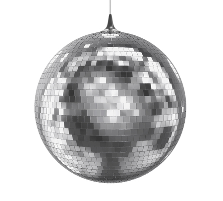 Disco Ball Isolated Stock Photo
