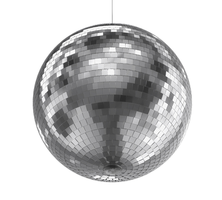 Disco Ball Isolated Standard-Bild - 114122753
