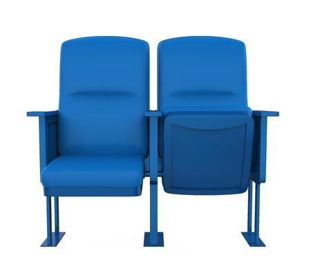 Stadium Seats Isolated