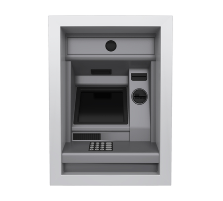 Automated Teller Machine Isolated