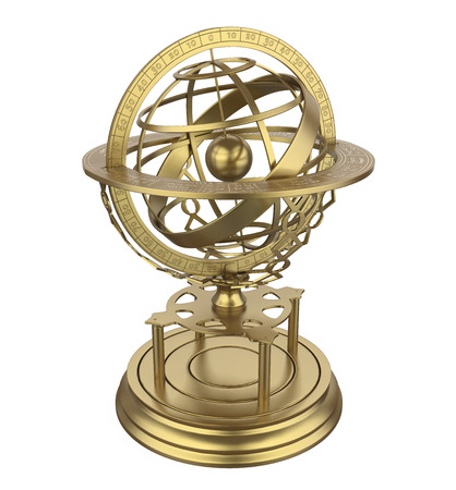 Armillary Sphere Isolated