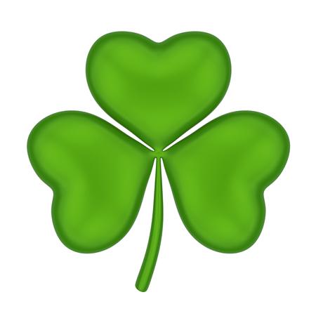 Shamrock St. Patricks Day Isolated