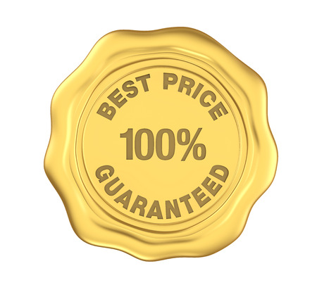 100% Best Price Guaranteed Wax Seal Isolated