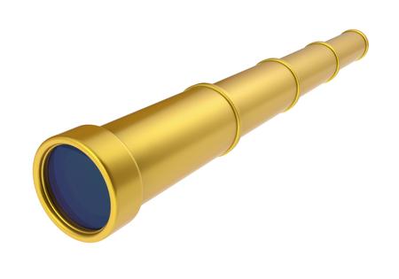Spyglass Telescope Isolated