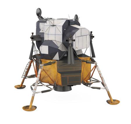 Modulo lunare Apollo isolato