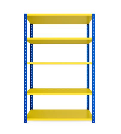 Estantes de metal Rack aislados