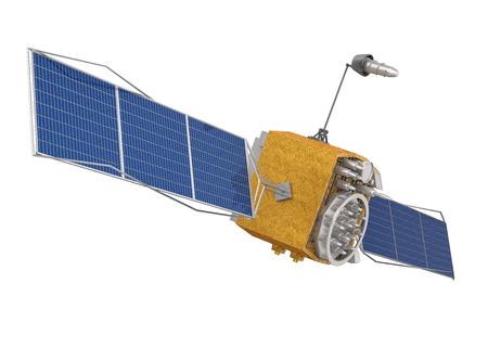 Satellit isoliert