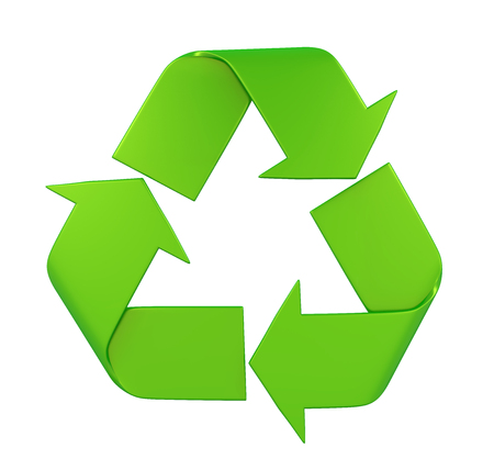 Recycle Sign Isolated Imagens