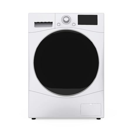 Washing Machine Isolated Reklamní fotografie