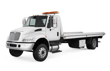 Tow Truck Isolated Stock Photo - 121259987