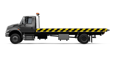 Tow Truck Isolated Stock Photo - 121259988