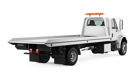 Tow Truck Isolated Stock Photo - 121259991