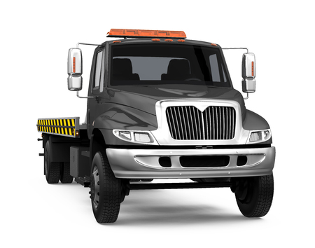 Tow Truck Isolated Stock Photo - 121259992