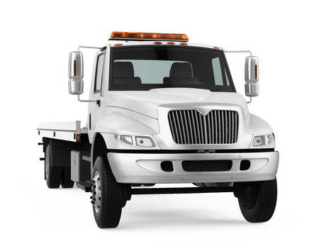 Tow Truck Isolated Stock Photo - 121259993