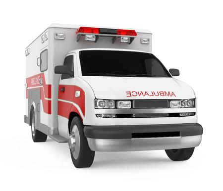 Ambulance Car Isolated