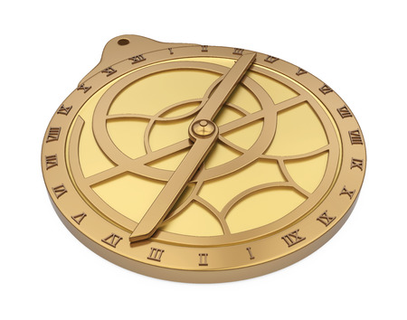 Medieval Astrolabe Isolated