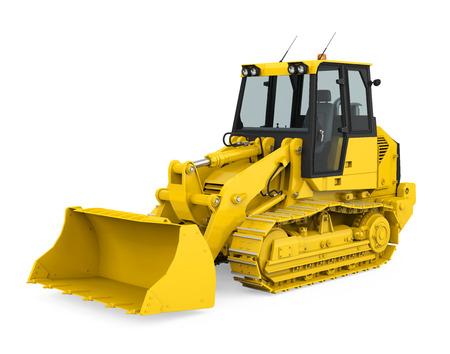 Mini Excavator Isolated Imagens